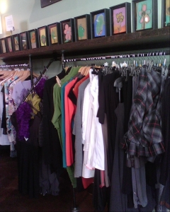 Lala Land Collection and clothing offered at Momo's. Including the most awesome skirt ever!
